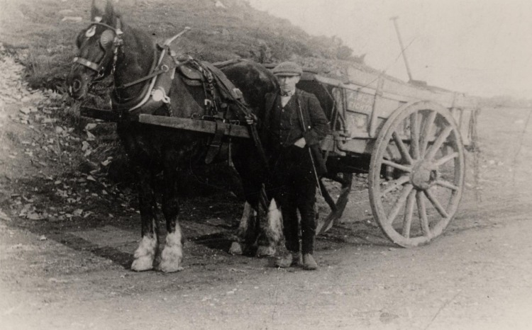 A typical coal waggon of the early 1900s