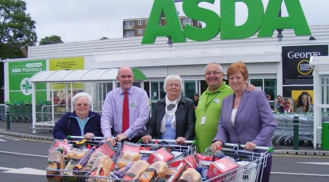 Asda Bloxwich rewards loyal customers