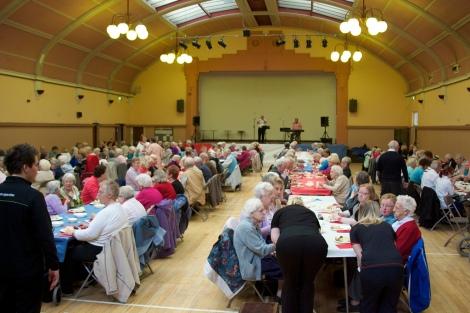 Bloxwich Carnival Senior Citizens' Party 2012