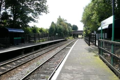 Bloxwich Station at Croxdene Avenue