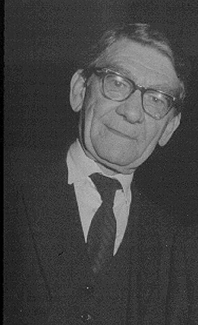 Harry Hinsley late in life