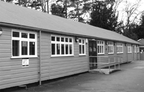 Hut 4, now a cafe, Bletchley Park
