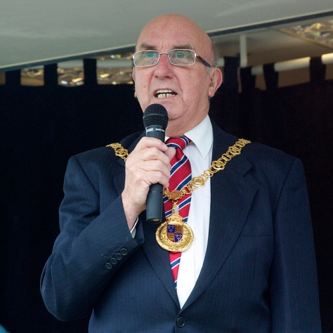 Mayor of Walsall Cllr Dennis Anson