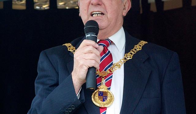 Mayor of Walsall Cllr Dennis Anson