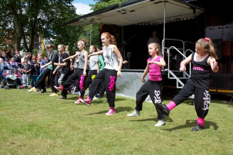 Partying in the Park - the Russon Dance Academy