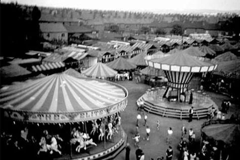 Pat Collins' Wakes Ground, now the Asda site, 1949.