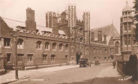 St John's College, Cambridge, late 1910s