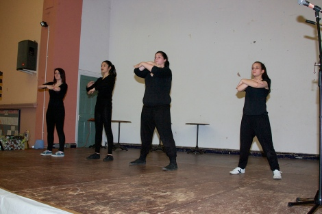 Talented teenage dancers from Mirus Academy on Beechdale Estate, Leamore entertained an appreciative audience with several lively routines.