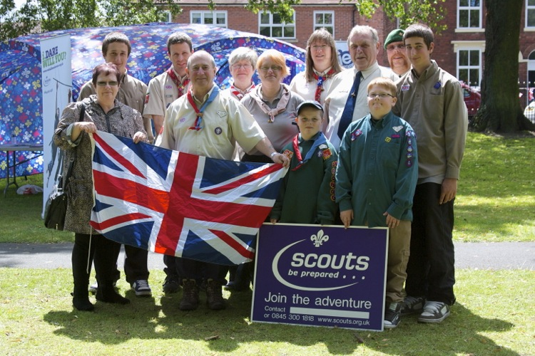 The Walsall North Scouts are ready for anything - join the adventure!
