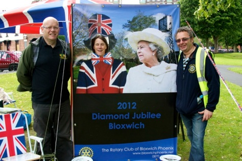 The Rotary Club of Bloxwich Phoenix had a very special visitor
