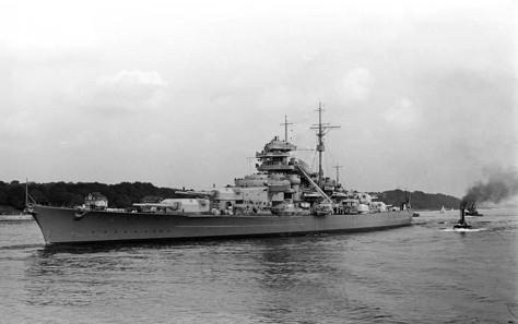 Schlachtschiff Bismarck, 1940