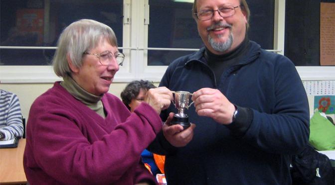 Writers' Circle award presented to Bloxwich Telegraph editor