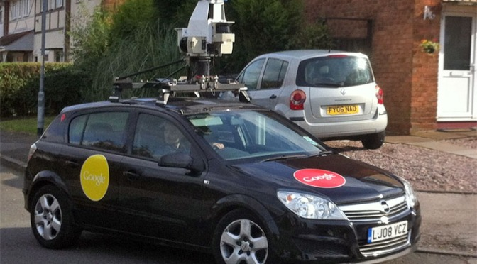 Google re-surveying Bloxwich for Street View