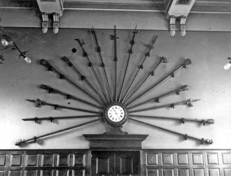 Bayard's Colts in Walsall Guild Hall, 1921 (Walsall Local History Centre).