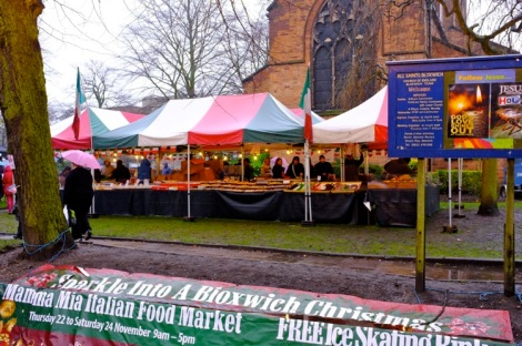The Italian Market adds sparkle to All Saints grounds.