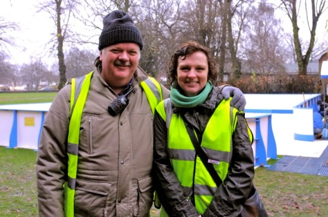 Bloxwich East Labour councillors Shaun and Julie Fitzpatrick also acted as volunteer marshals.