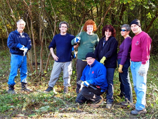 The Friends of Park Lime Pits (courtesy Linda Mason).