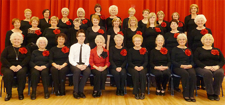 Pelsall Ladies Choir (courtesy Gary Nicholls)