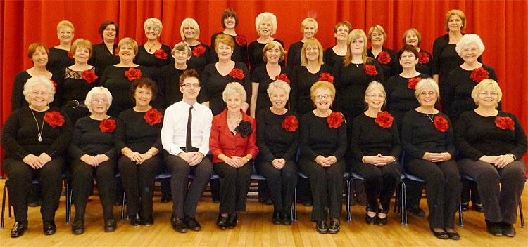 Pelsall Ladies Choir (courtesy Gary Nicholls)