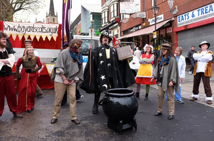 Pot calling the kettle Black Country - the Froggy Alchemist gets some stick from Walsall folk