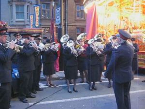 Salvation Army Band.