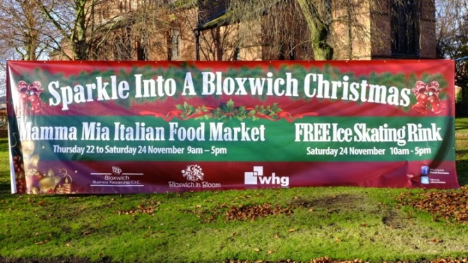 Best-ever Sparkle Into A Bloxwich Christmas is coming!