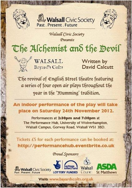 The Alchemist and the Devil poster.