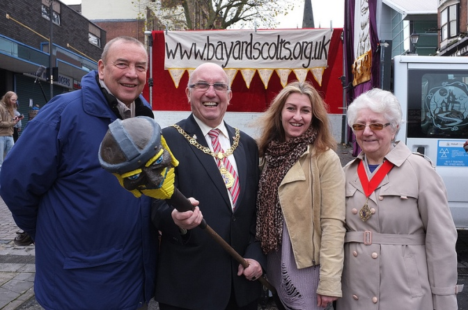 Devilish treat draws crowds to Walsall High Street