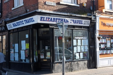 A bit of Victorian Bloxwich High Street - Joint 2nd winners Elizabethan:Majestic Travel