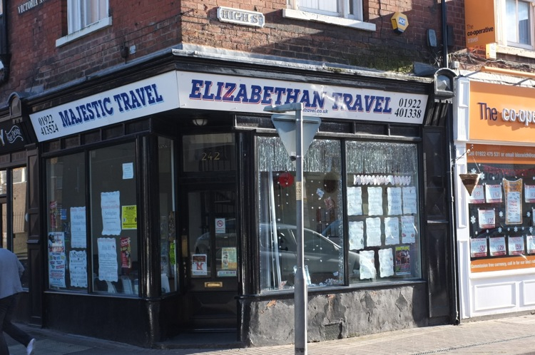 A bit of Victorian Bloxwich High Street - Joint 2nd winners Elizabethan:Majestic Travel