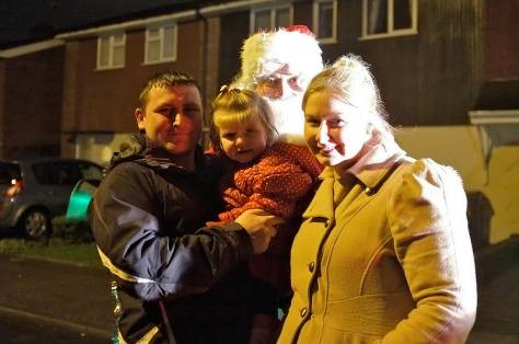 Another little angel and family in Ashbourne Rd
