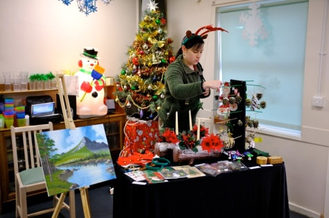 Arts and crafts stall
