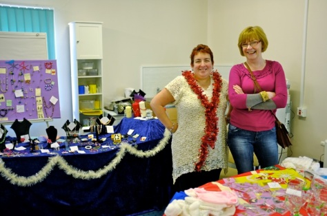 Costume jewellery stalls