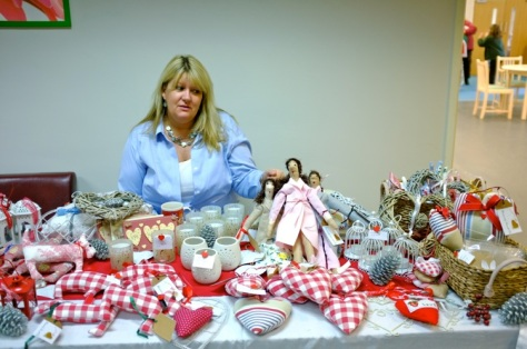 Dolls and other crafts stall