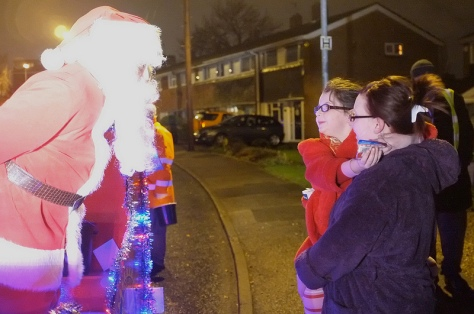 Ho ho ho - more happy smiles in Belper Rd