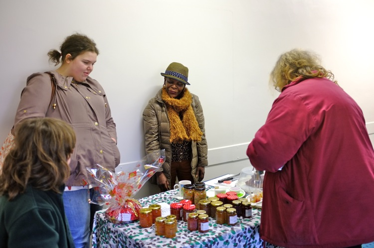 Jams and ginger cake stall