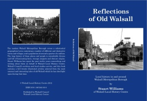Reflections of Old Walsall Book Cover