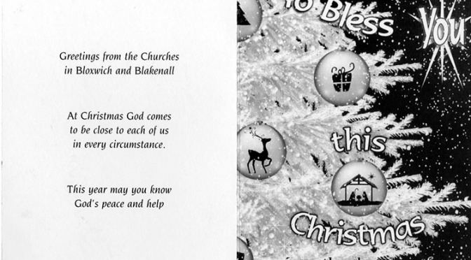 Bloxwich Churches – Services for Christmas