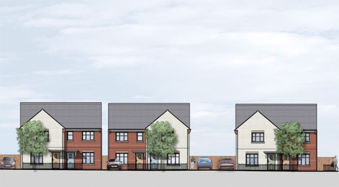 New homes for Mossley