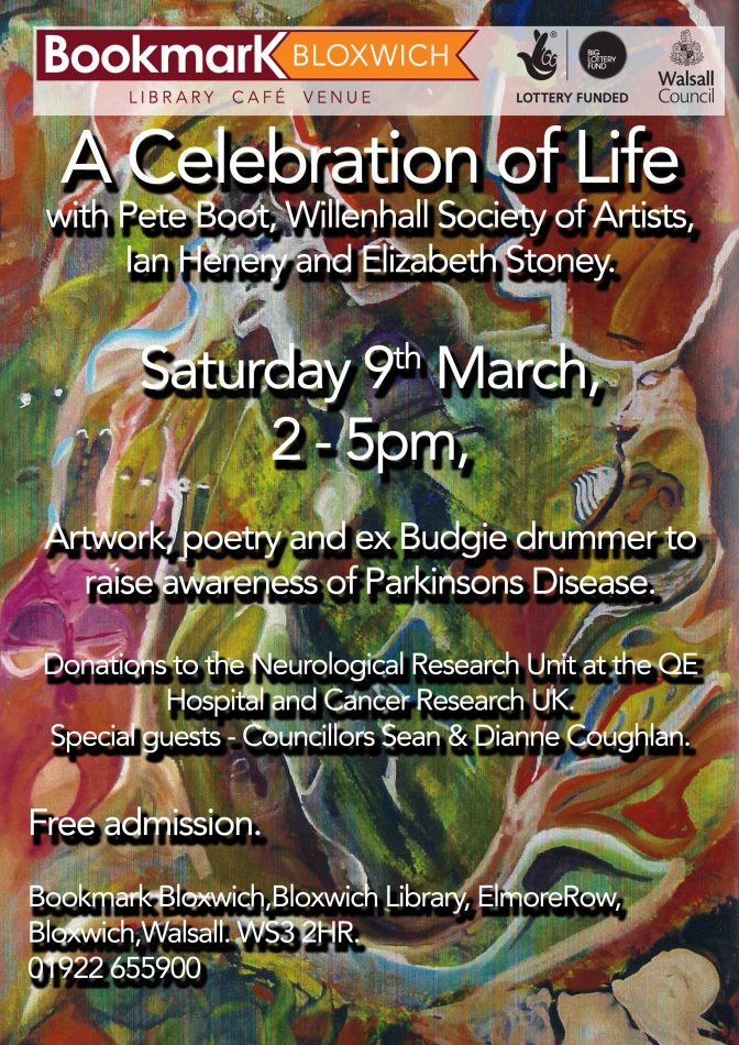 A Celebration of Life – arts at Bookmark Bloxwich