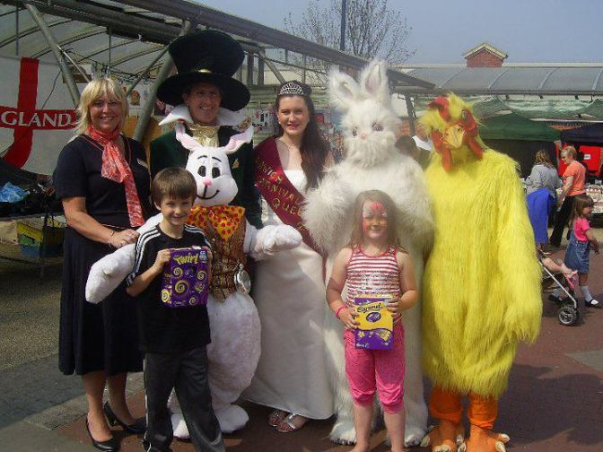 Easter Fun in Bloxwich