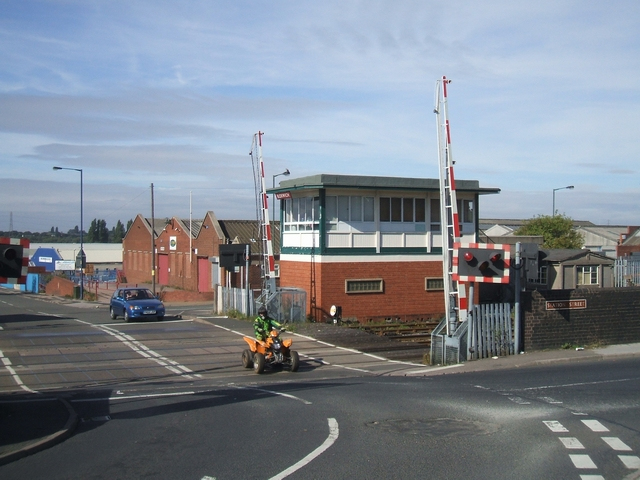 Bloxwich Level Crossing, photo courtesy John M