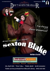 Sexton Blake Strikes Back Poster
