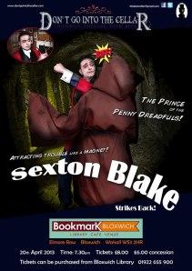 Sexton Blake Strikes Back Poster