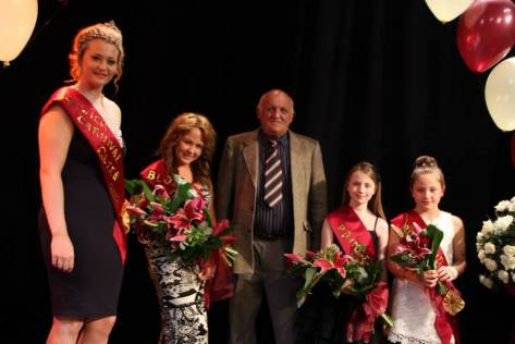 Bloxwich Carnival Royalty 2013 (courtesy Rotary Club of Bloxwich Phoenix)