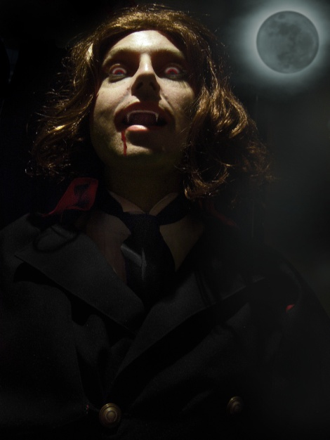 Dracula Walks the Night - Count Dracula by moonlight