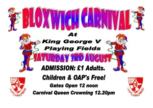 Bloxwich Carnival Poster 2013