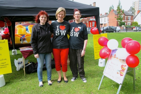 The Slimming World team were ready to help you lose weight