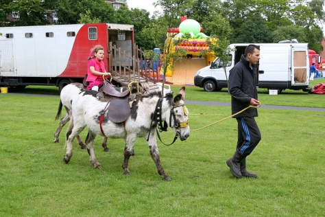 These jolly donkeys aren't in Derby - they're in Bloxwich!