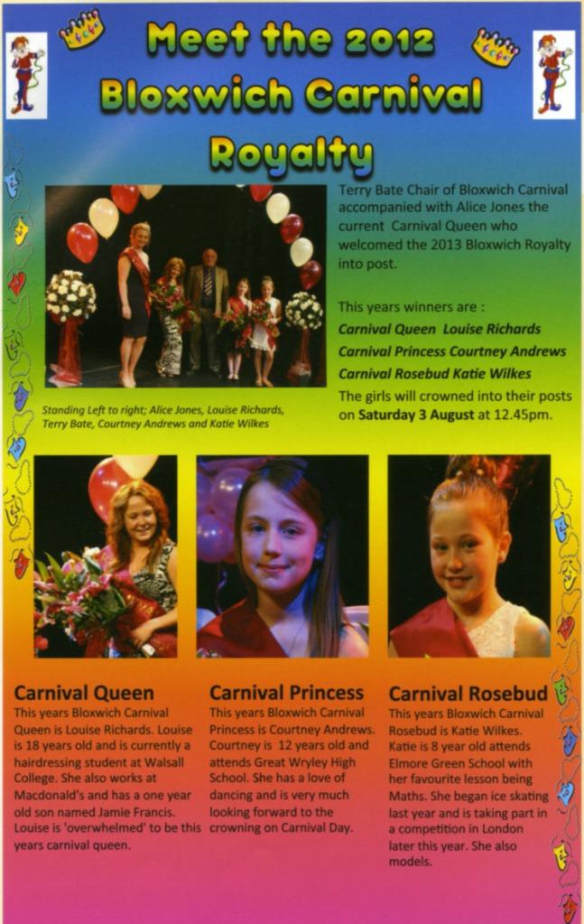 Carnival Royalty